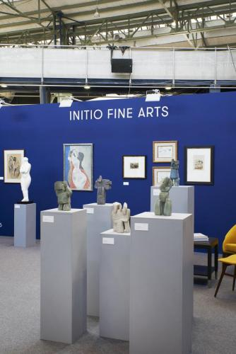 Initio Fine Arts at Antik and Art, Budapest, 2019