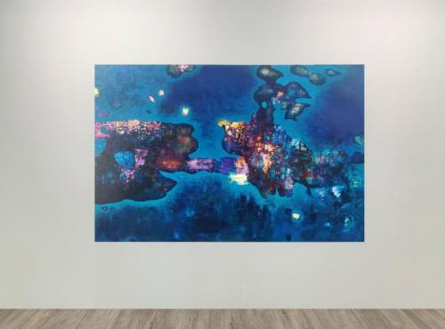 Initio Fine Arts Bíro A világ peremén 2019 125x200cm WHITE