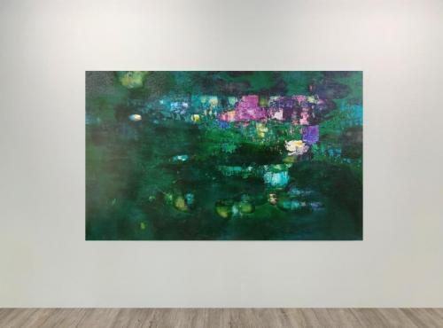 Initio Fine Arts Bíro Untitled 2019 125x200cm WHITE