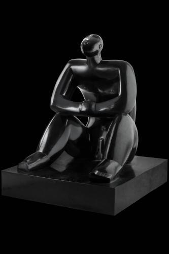 002-csillagnezo-2015-bronz-156x130x120cm--Sle 0015--01-fekete