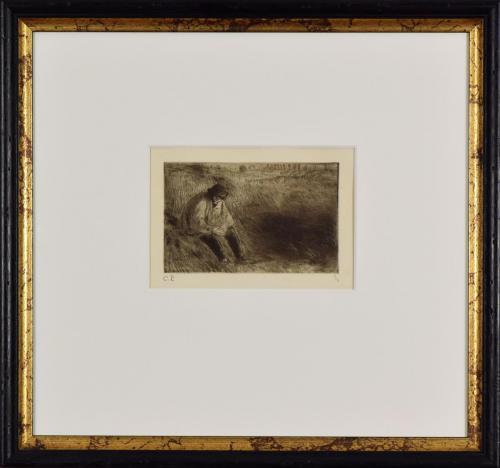 Camille Pissaro: Paysan, Le Père